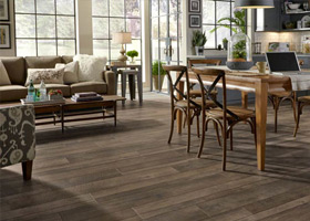 Laminate is low-maintenance flooring that works on any budget