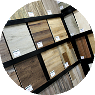 Hundreds of WPC and Rigid Core Flooring Samples to choose from.